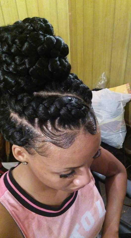 Pintyeryeѕt Icedoutche Hair Styles Natural Hair Styles Goddess Braids Hairstyles