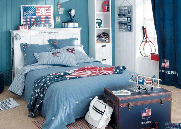 Une chambre d\'ado façon chambre d\'adulte | Marie claire maison ...