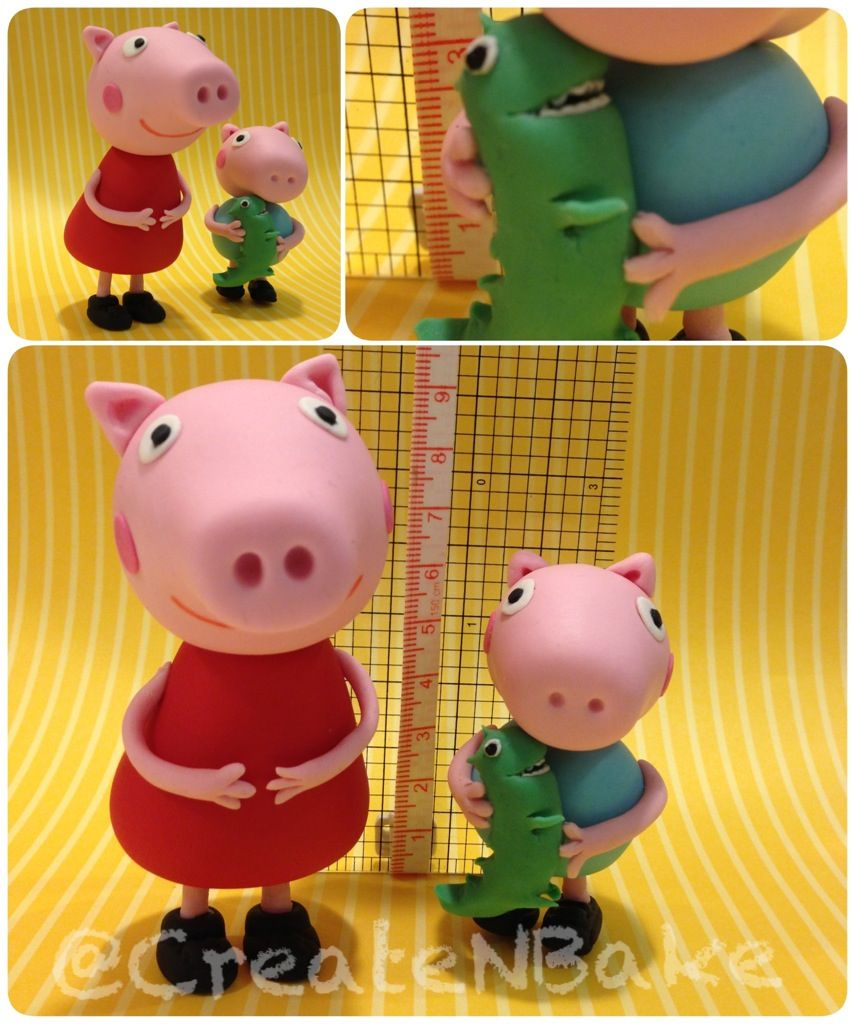 Peppa pig and George ( roarrrr) facebook/CreateNBake