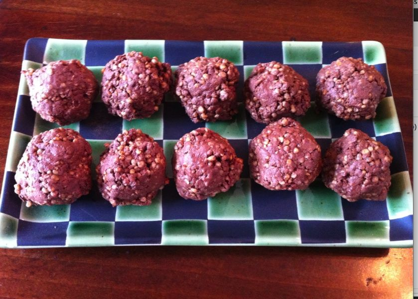 Whey Protein Recipes ‹ Choc Protein balls