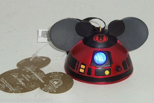 Disney Star Wars Droid R2 Mk Mickey Ear Hat Light Up