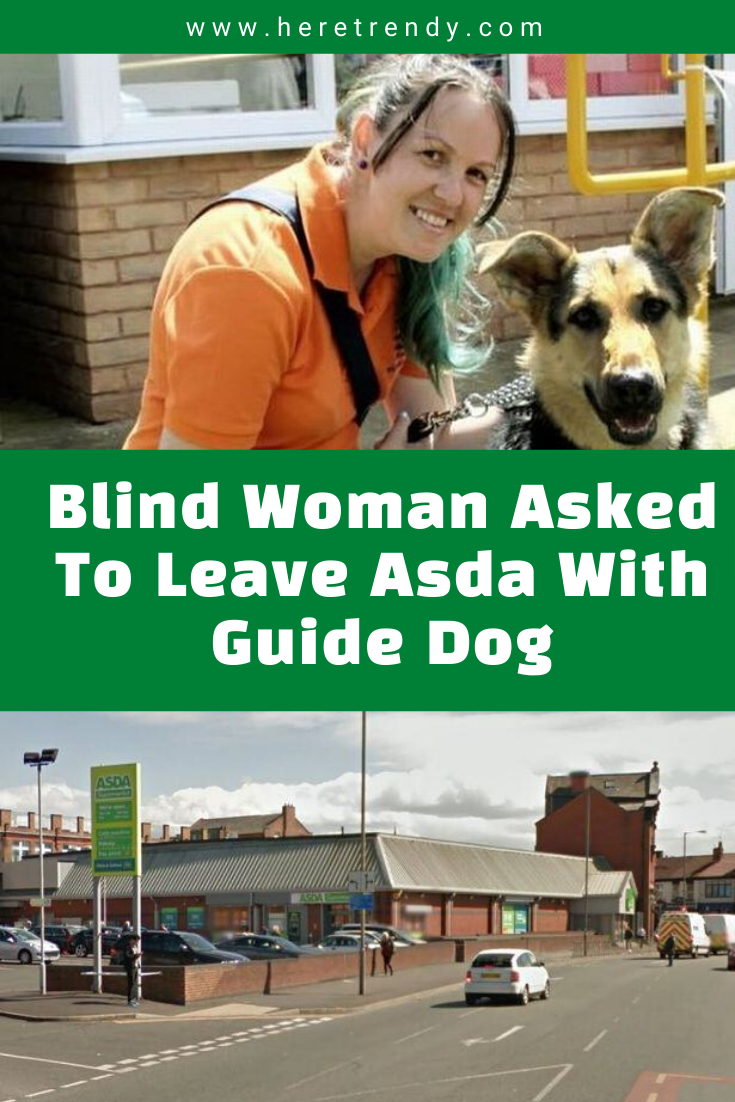 Blind Woman Asked To Leave Asda With Guide Dog In 2020 Guide Dog Dogs Asda