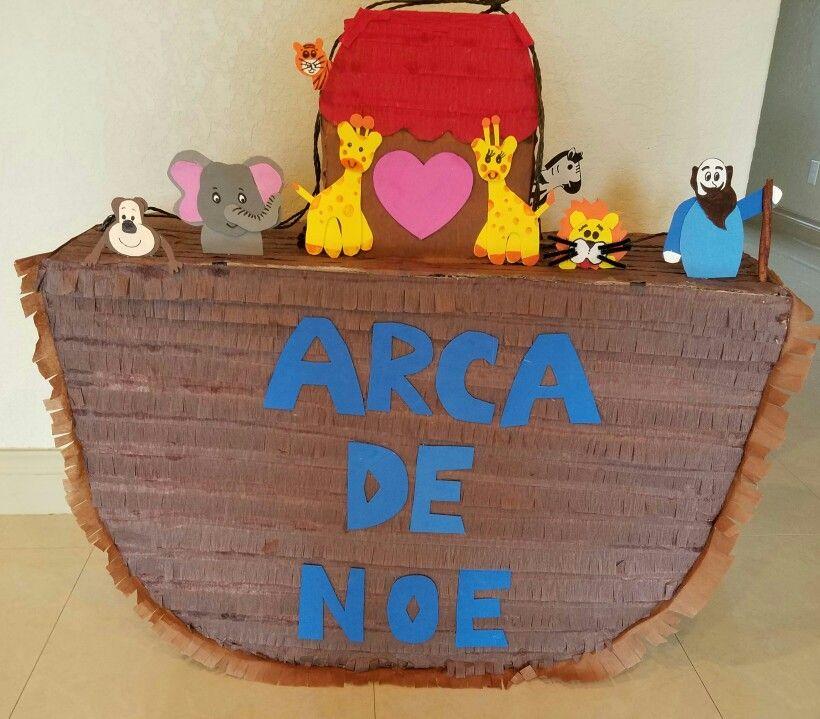 Arca De Noe Piñata El Arca De Noe Arcas Y Piñatas