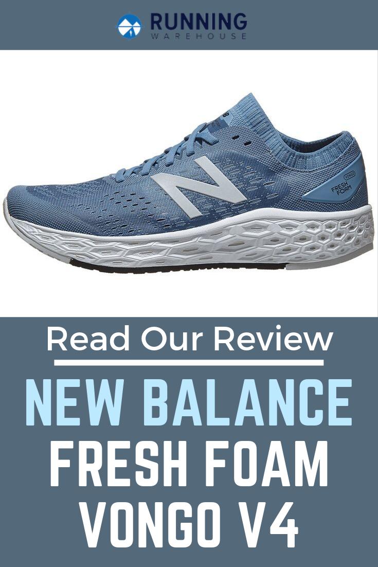 New Balance Fresh Foam Vongo V4 Review New Balance Fresh Foam Running Shoe Reviews New Balance Shoes