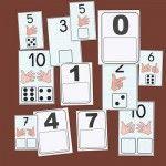 Recursos para el aula: Fichas de números para aprender y repasar