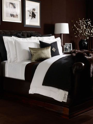 Cotton Tuxedo Duvet Cover   Ralph Lauren Home Solid Duvets   RalphLauren.com