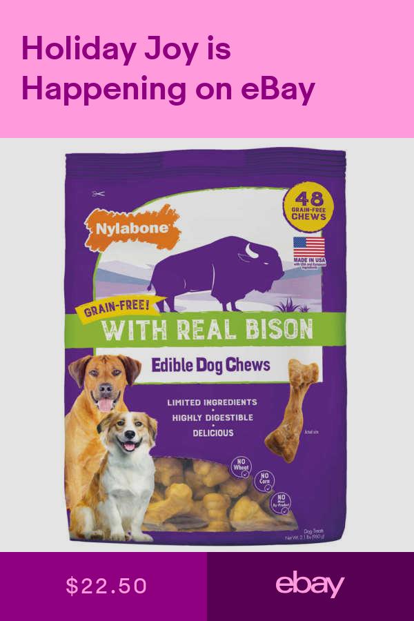 Nylabone Dog Chews Treats Pet Supplies Ebay Dog Chews