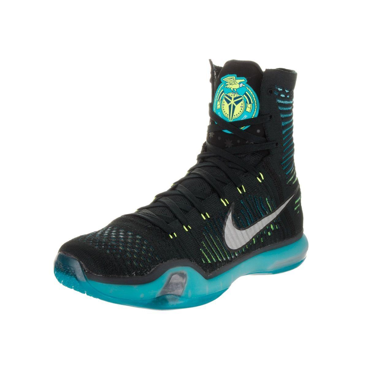 low priced 1bdba 009dc Nike Men s Kobe X Elite and Blue High-top Basketball Shoes