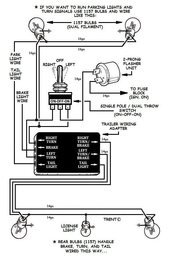 how to add turn signals and wire them up  motorcycle wiring