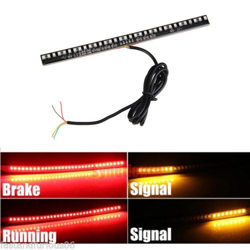 Led Light Strips For Motorcycles Newdc12Vmotorcycletailbrakestopturnsignalintegrated33Led