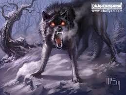 صور ذئاب Ghost Wolves Dire Wolf Mythical Creatures