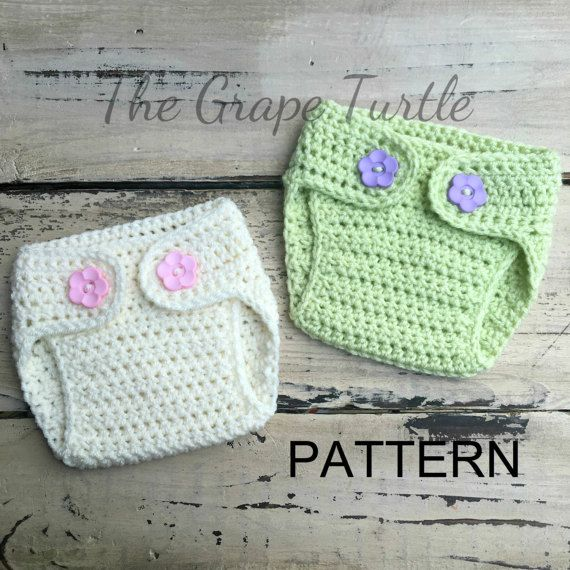 Crochet Diaper Cover PATTERN | Patrón de ganchillo, Gatos bonitos y ...