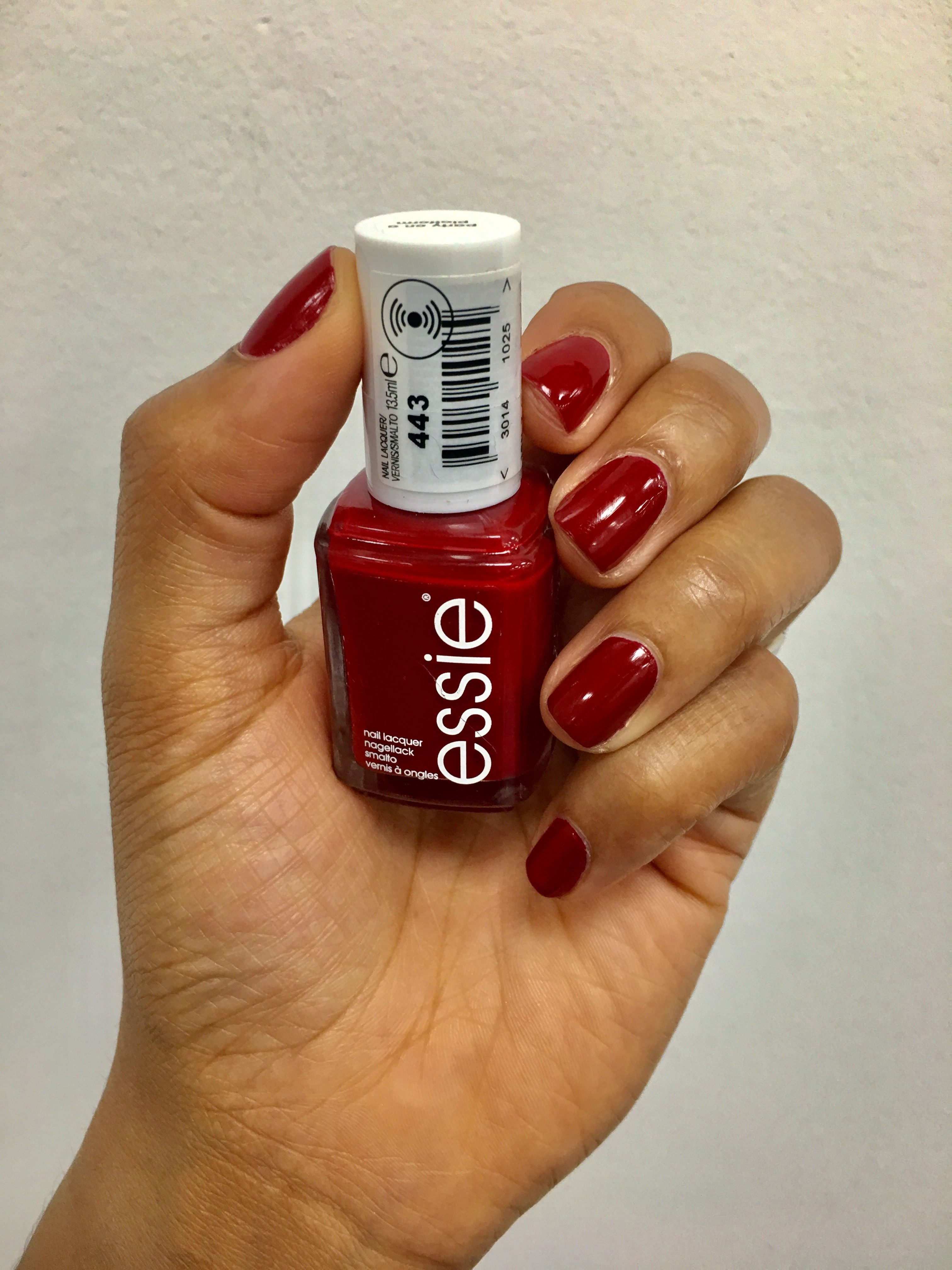 Essie - party on a platform with gel topcoat | Accessories | Pinterest