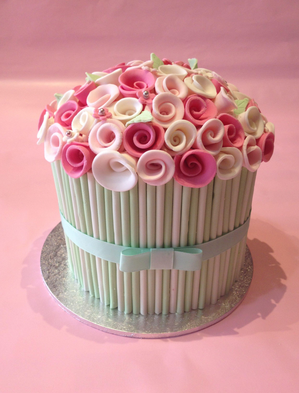 Flower Bouquet Cake From Sweet As Sin Cupcakery Httpsfacebook