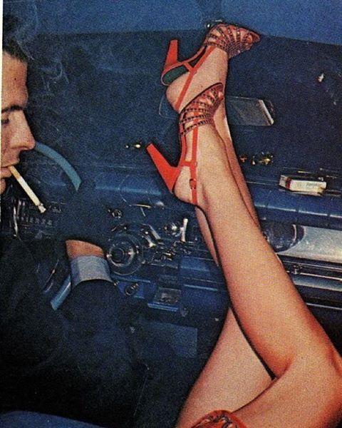 Guy Bourdin for Vogue // #guybourdin @voguemagazine