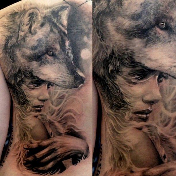 Tattoo bedeutung mit wolfskopf frau 26 Wolf