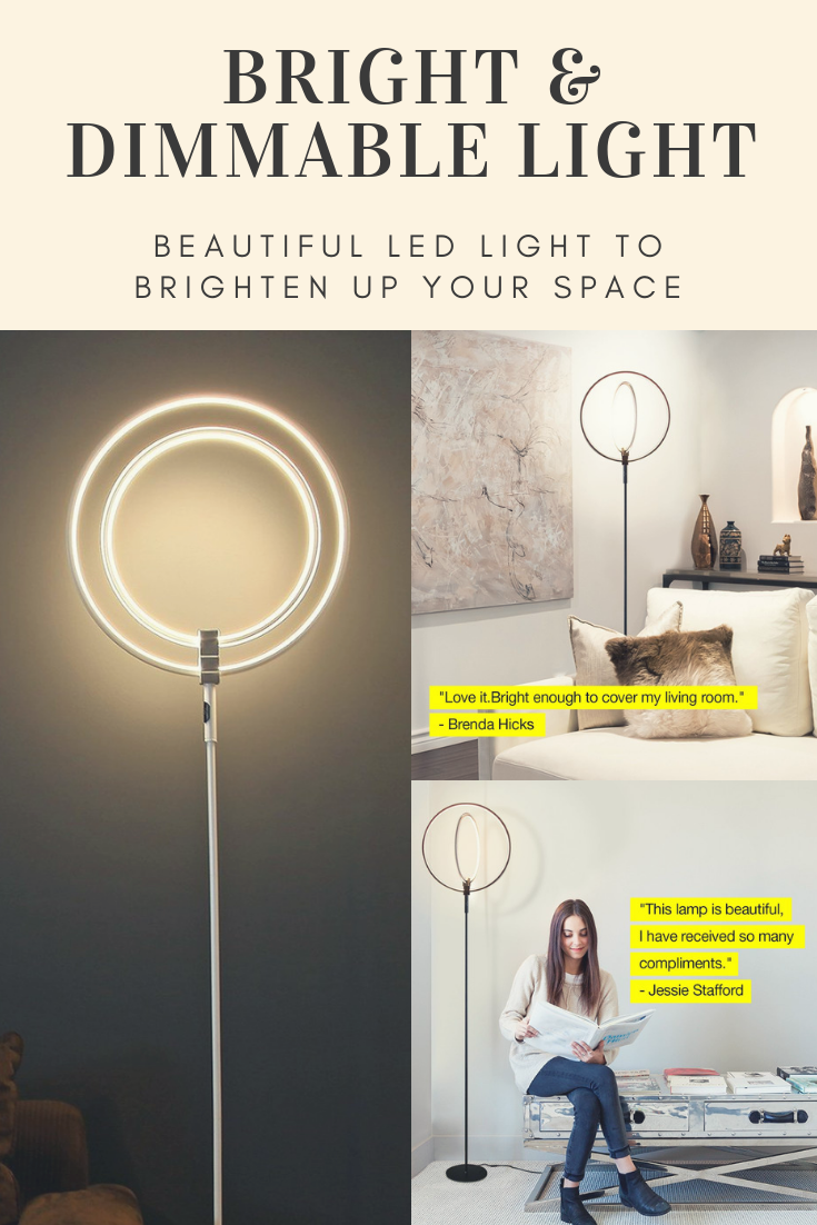 Led Floor Lamp Very Bright Dimmable Light For Living Room Beautiful Led Light To Brighten Up Your S Bathroom Mirror Makeover Frames Brighten Room Led Lights