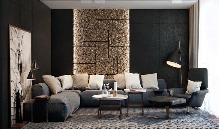 nice-black-furniture-living-room-ideas-black-and-gold-living-room-ideas.jpg (730×430)