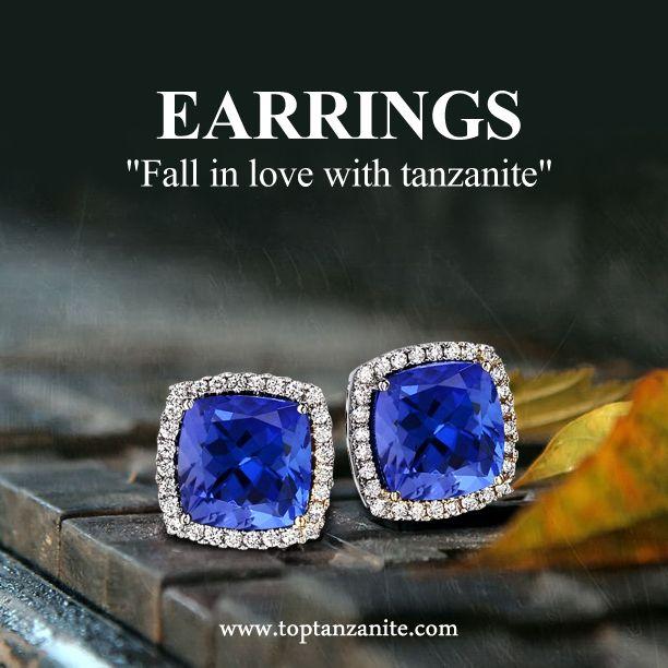 Beautiful Tanzanite: Spark With This Beautiful Tanzanite Earrings 1