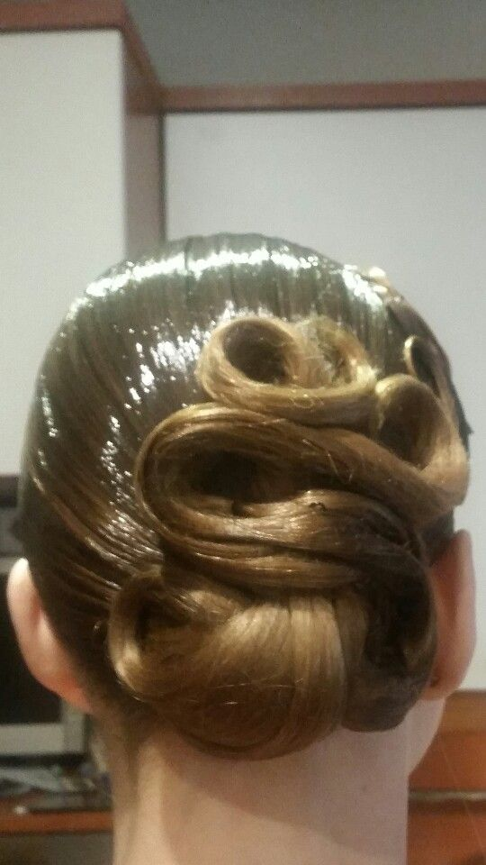 St Hairstyle Ballroom Dance Hair Pinterest Ballroom Hair