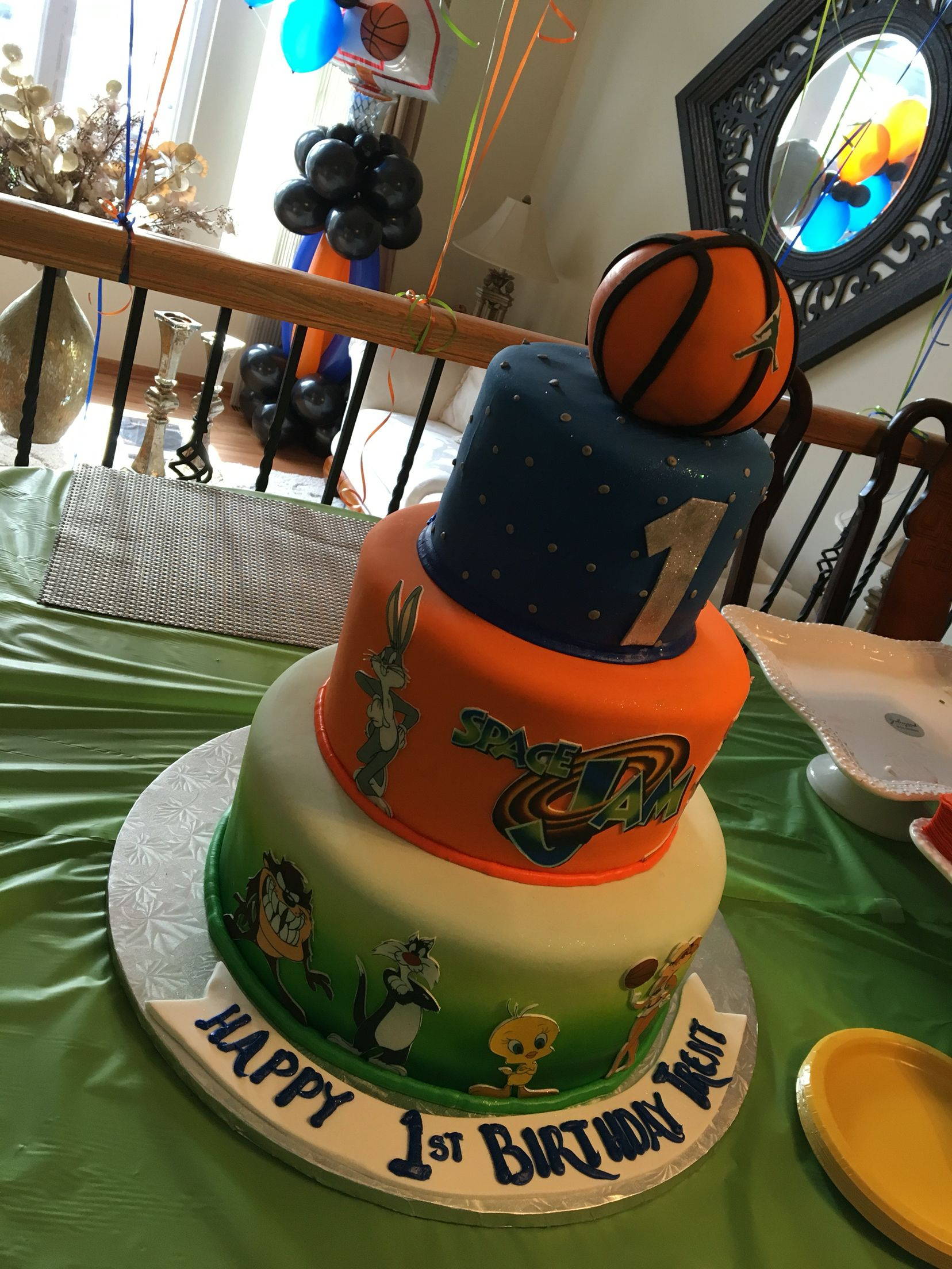 20 Space Jam Birthday Party Supplies Pictures And Ideas On Meta