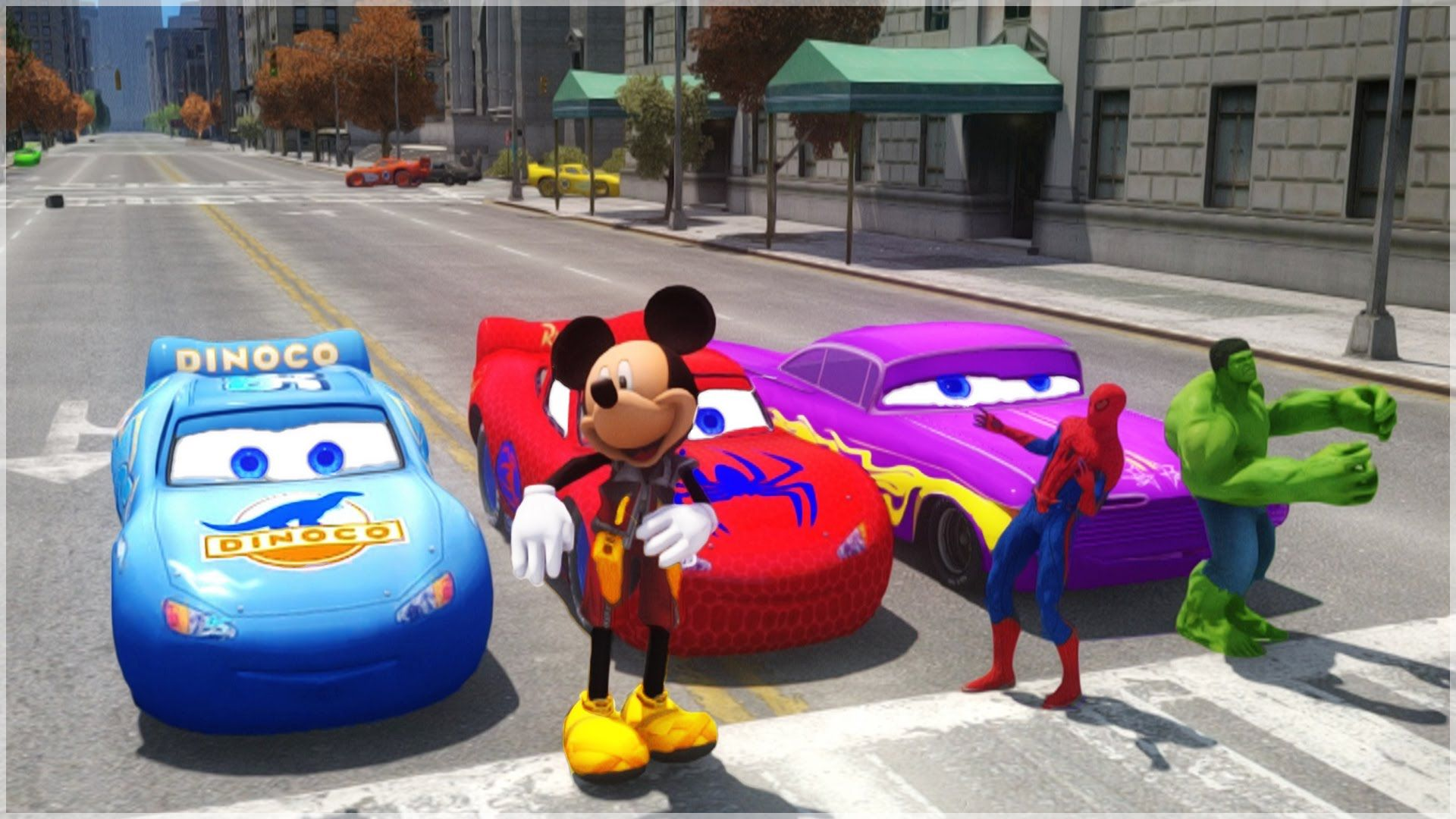 News HULK, MICKEY MOUSE & SPIDER-MAN drive Disney Pixar Cars LIGHTNING MCQUEEN, DINOCO & RAMONE  The Amazing SPIDER-MAN from Marvel driving his spiderman Mc queen cars! & The Incredible HULK from marvel comics & avengers driving Ramone ... rate... http://showbizlikes.com/hulk-mickey-mouse-spider-man-drive-disney-pixar-cars-lightning-mcqueen-dinoco-ramone/