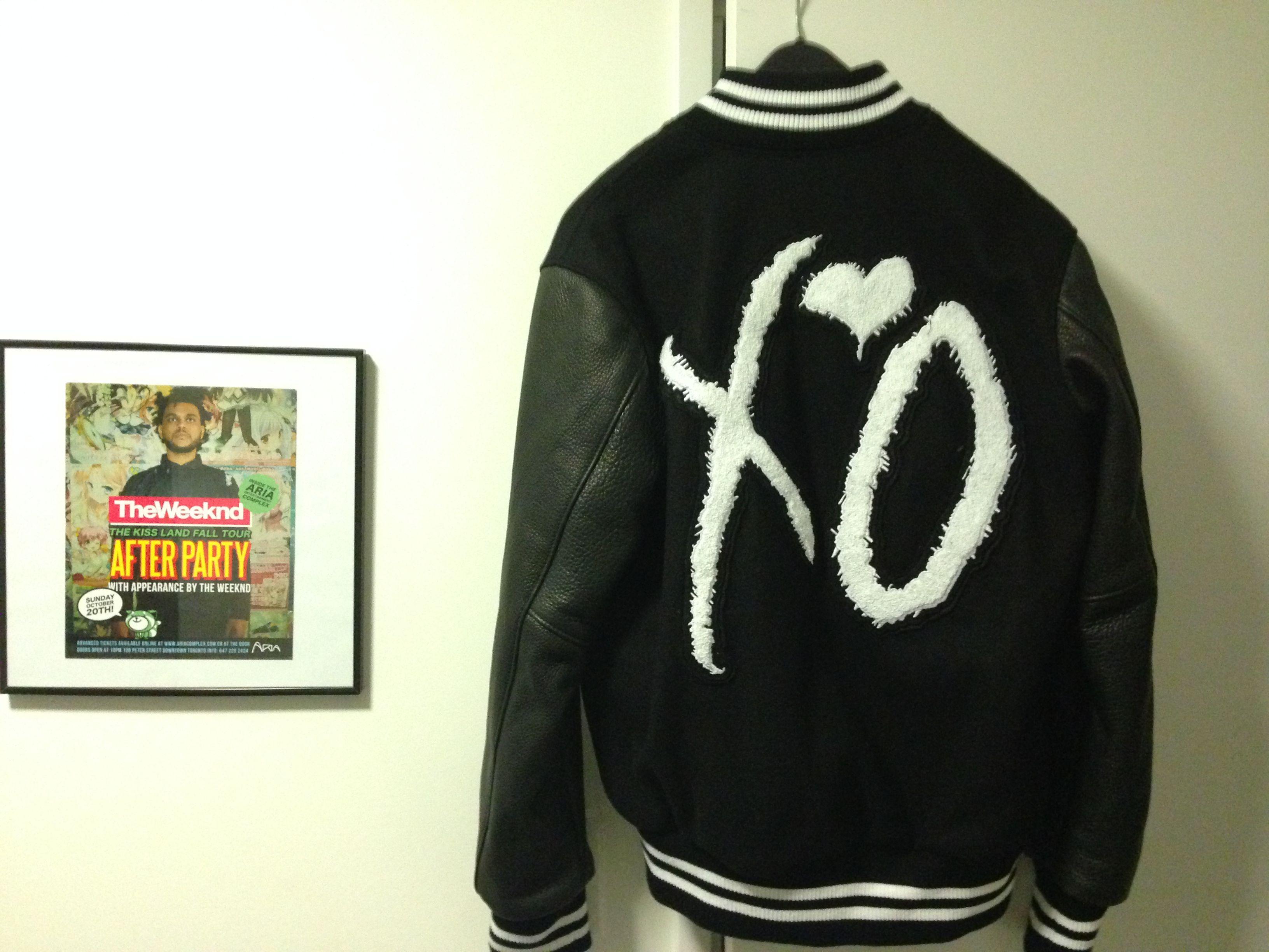 Ridingonlorenzos S Album Ldquo Xo X Roots Varsity Jacket Weeknd Limited Edition 1 Of 30 Rdquo Mdash Photo 5 Of 7 Xo Jacket Varsity Jacket Jackets [ 2448 x 3264 Pixel ]