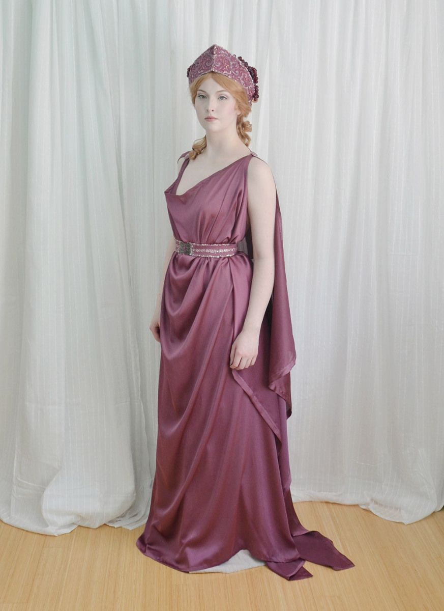 The Grecian Costume : Making a Chiton, Crown, and Girdle   December ...