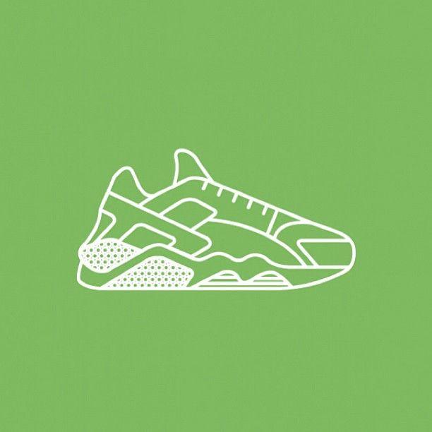 Découvrez des illustrations minimaliste de baskets (New