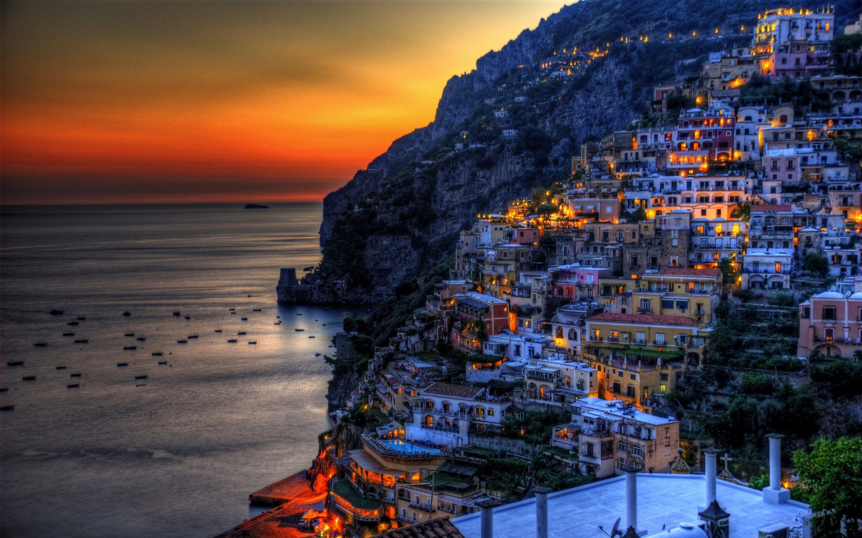 Cinque Terre on Italian Riviera coastline wallpaper World