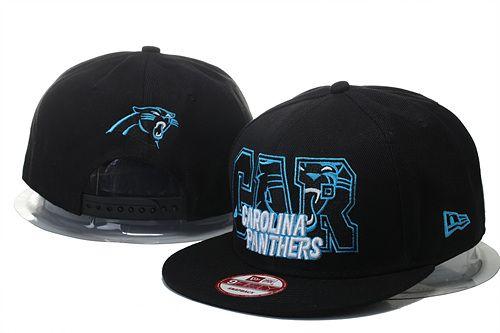 bdf3e6ca841 Carolina Panthers NFL Big City 9FIFTY Snapback Hats Black