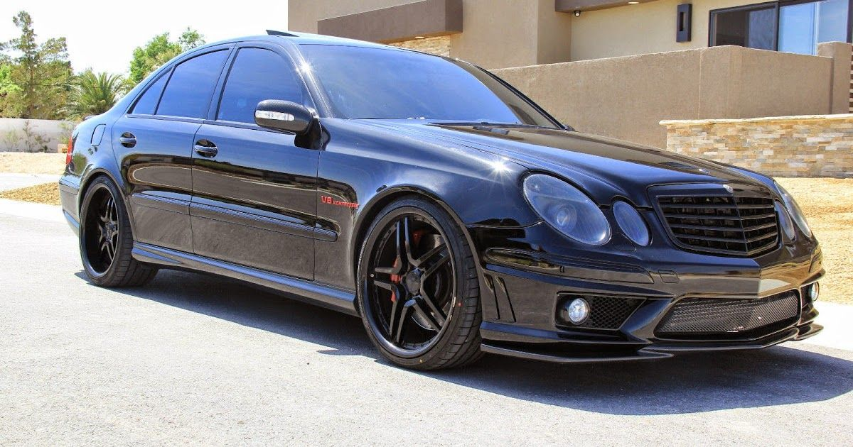 MercedesBenz W211 E55 AMG RENNtech Shadowline E55 amg