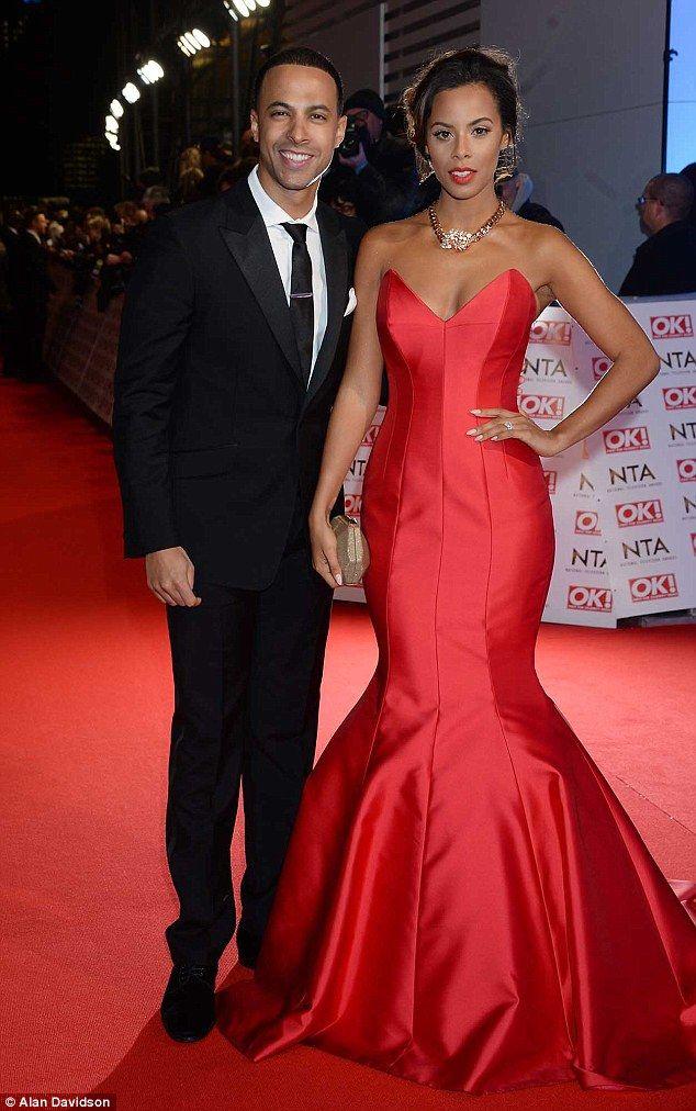 Black Couple Red Carpet