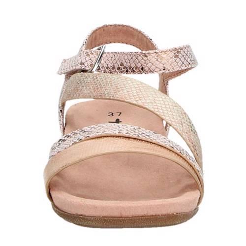 Tamaris sandalen met slangenprint Sandalen, Slangenprint