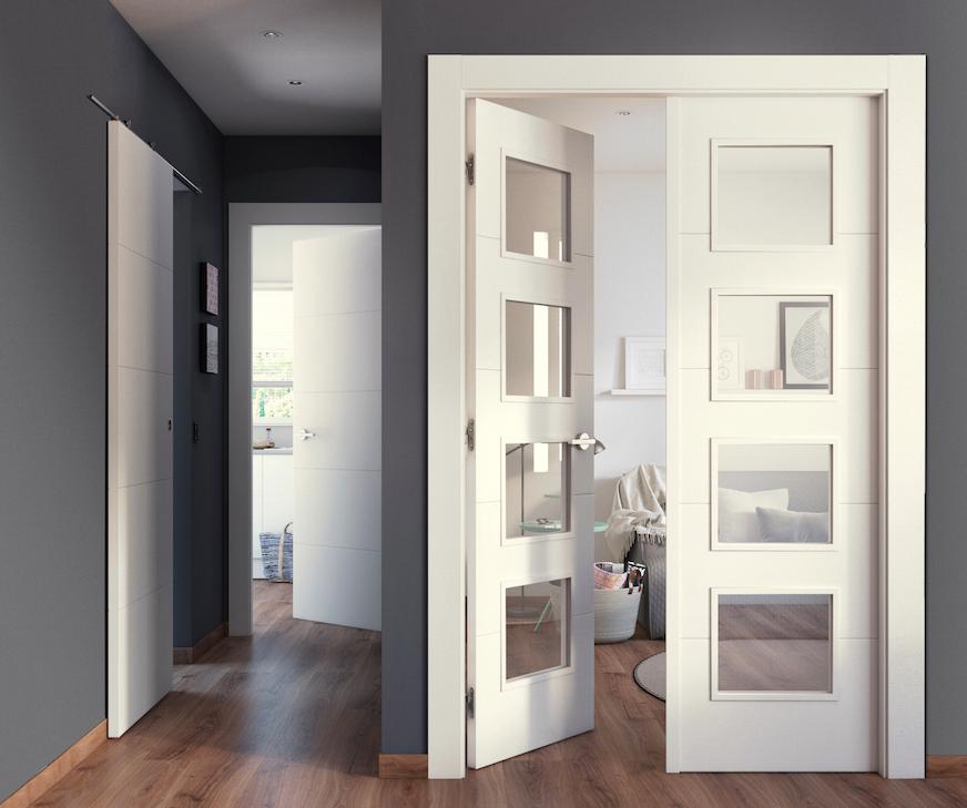 Ya no es necesario tener la misma puerta en casa estancia for Puertas rusticas exterior leroy merlin