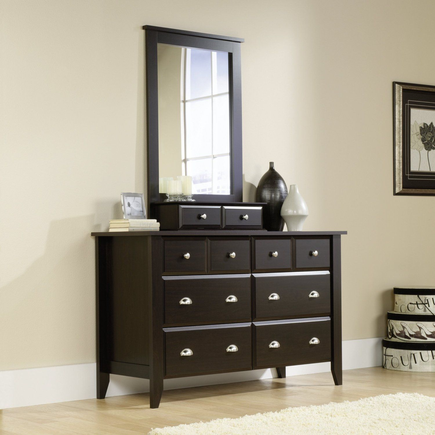 Pin by Ashley Belton on furniture | Dresser with mirror, Cherry ...