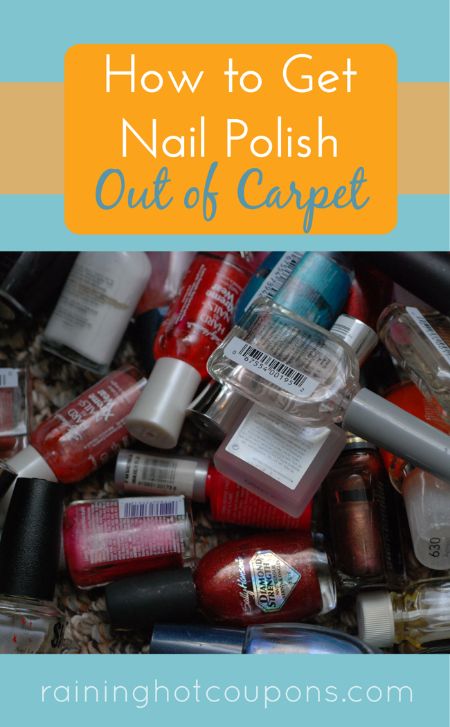 How To Get Nail Polish Out Of Carpet Recipe Nail