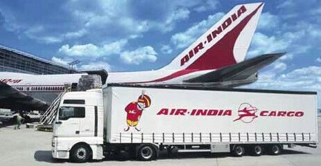 Air India Cargo Truck Air Cargo Cargo Air India