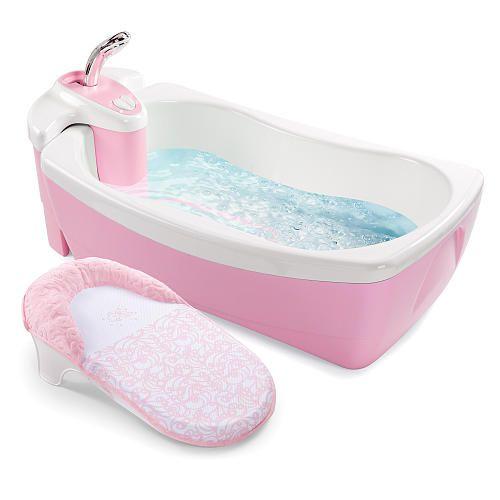 Summer Infant Lil Luxuries Whirlpool Baby Spa Bath Tub