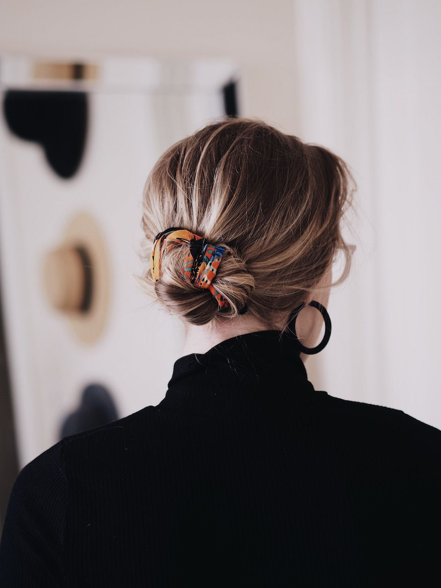 22 Ways to Tie a Hair Scarf