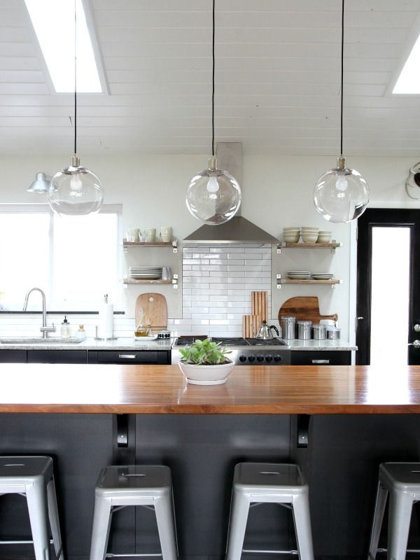 Kitchen House Tweaking Breakfast Bar Pendant Lights Lighting Pendants