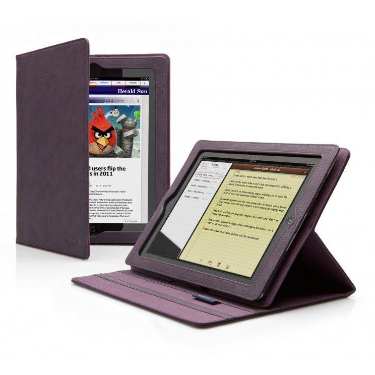 My new iPad2 case. In purple. Love it.