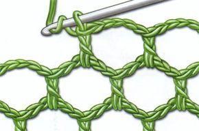 Photo of crochelinhasagulhas: Variações com ponto alto no crochê