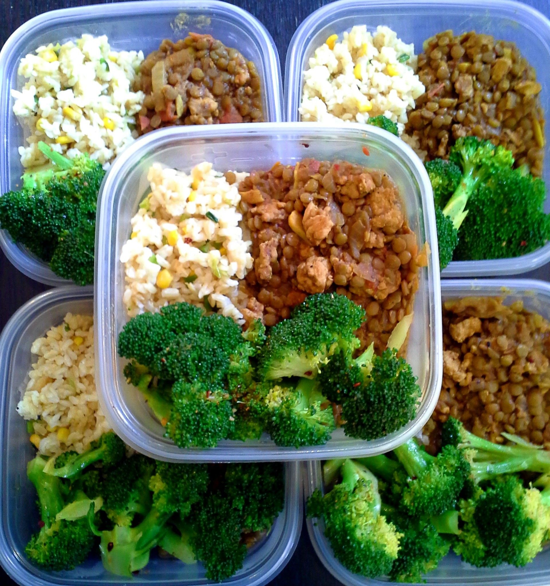 Chicken Brown Rice Broccoli Meal Prep-3063