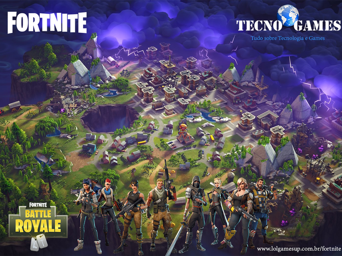 Tudo Sobre Fortnite O Jogo Da Epic Games Lolgamesup Fortnite Jogos Game
