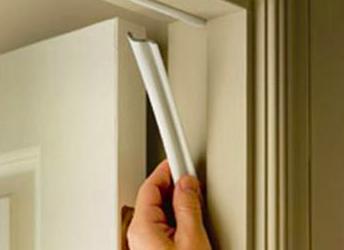 How To Weatherstrip A Door Hunker Door Weather Stripping Weatherstripping Weather Stripping