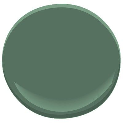 637 gothic green hue accent colors and paint colors for Benjamin moore green exterior paint colors