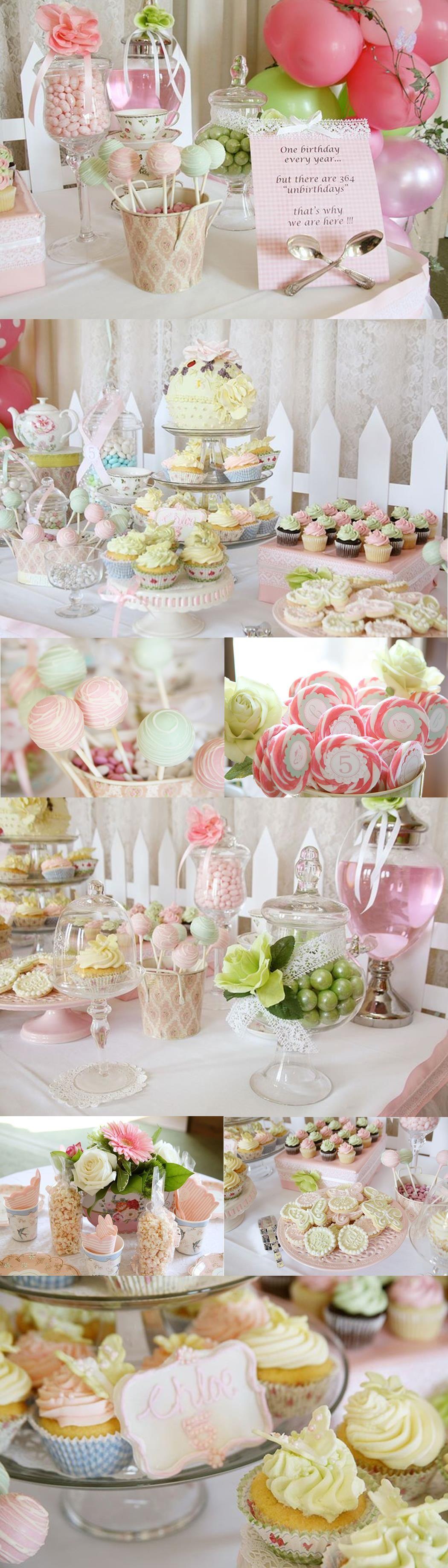 Tea party ideas for High tea party decorations