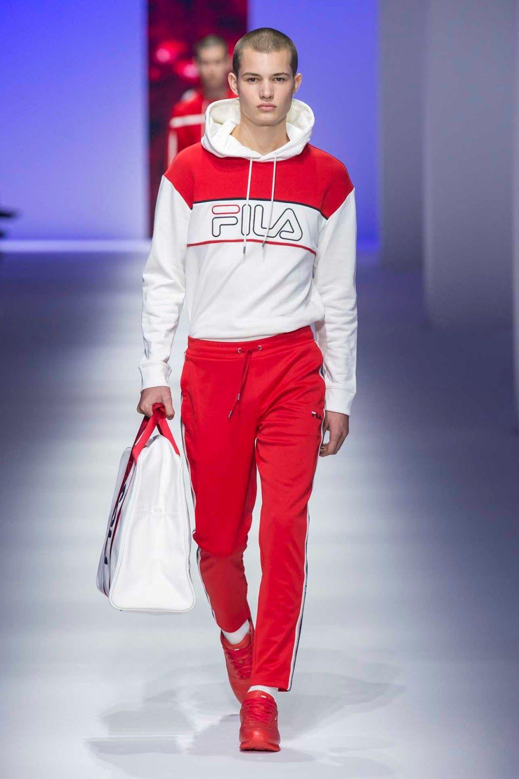 Fila Spring-Summer 2019 Runway Show | Fila in 2019 | Fashion ...