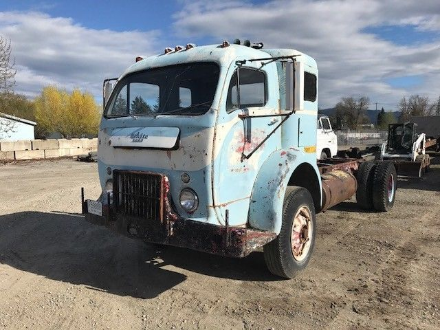 1956 White 3000 Coe Cabover Truck W Sleeper Cab Trucks Cab Classic Cars